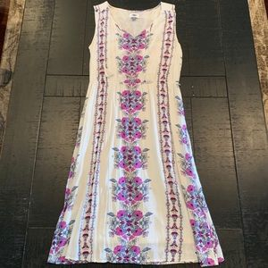 Cream & Floral Sundress